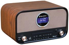 Roadstar HRA-1782 DBT stereo retro DAB+ radio met CD, USB en Bluetooth