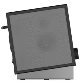 PALONA QUUBI stereo internetradio met DAB+ en FM ontvangst, Bluetooth , zwart