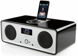 Vita Audio R2i DAB DAB+ FM iPod iPhone muzieksysteem in zwart