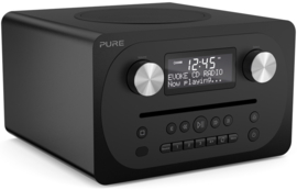 Pure Evoke C-D4 digitale DAB+ radio met CD en Bluetooth, Siena Black