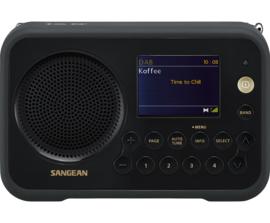 Sangean TRAVELLER 760  ( DPR-76 ) DAB+ draagbare radio met FM, zwart
