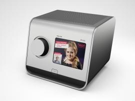Revo PiXis DAB+ en FM radio met kleurenscherm, in zilver