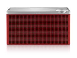 Geneva Touring / M oplaadbare portable hi-fi Bluetooth luidspreker, rood