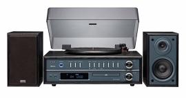 Teac LP-P1000 draaitafel muzieksysteem met CD, radio en Bluetooth, zwart