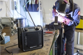 Perfectpro SolidDigital DAB+ en FM radio met audio ingang