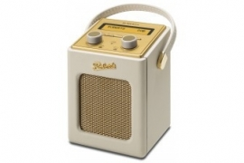 Roberts Revival Mini draagbare DAB+ FM radio, Pastel Cream