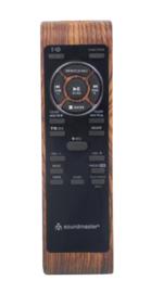 Soundmaster Elite Line PL585BR DAB+ en FM radio met platenspeler, USB en opname