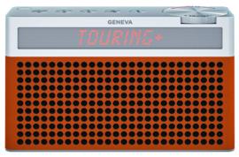 Geneva Touring / S+ oplaadbare portable hi-fi DAB+ en FM radio met Bluetooth, cognac