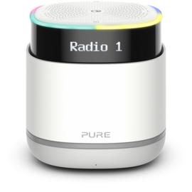 Pure StreamR draagbare Bluetooth Speaker met DAB+ en FM radio, Stone Grey