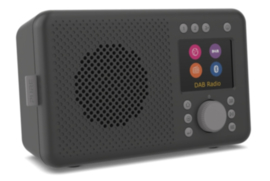 Pure Elan Connect DAB+, FM en WIFI internetradio met Bluetooth, Charcoal