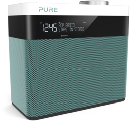 Pure Pop Maxi S stereo DAB+ en FM radio met Bluetooth, mint