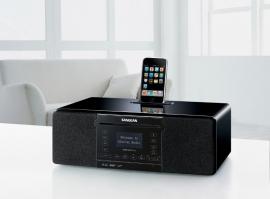Sangean DDR-63+ Tafelmodel internet radio met CD en SD speler