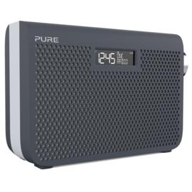 Pure One Midi Series 3s portable radio met DAB+ en FM, Slate Blue