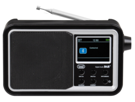 Trevi DAB 7F96 R draagbare radio met DAB+, FM en streaming via Bluetooth