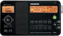Sangean PR-D8 FM en AM radio met MP3 speler en opname