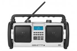 Perfectpro Workstation stereo werkradio met DAB+ en FM