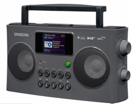 Sangean Fusion 290 (WFR-29C) stereo internet radio met Spotify, USB, DAB+ en FM met kleurenscherm