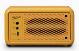 Roberts Revival Petite mini DAB+ en FM radio met Bluetooth ontvangst, geel