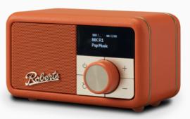 Roberts Revival Petite mini DAB+ en FM radio met Bluetooth ontvangst, oranje