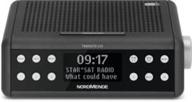 Nordmende Transita 115 DAB+ en FM wekkerradio met OLED scherm, antraciet