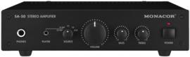 SA-50 Hifi Stereo versterker met 3 ingangen en toonregeling