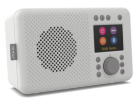 Pure Elan Connect DAB+, FM en WIFI internetradio met Bluetooth, Stone Grey