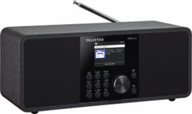 Telestar DIRA S 2 stereo radio met DAB+, FM, Bluetooth, USB en Internet