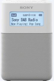 Sony  XDR-V20D draagbare oplaadbare stereo wekker radio DAB+ FM, wit