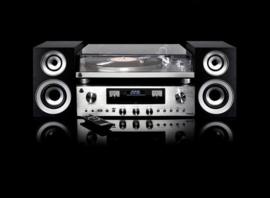 GPO PR100 & PR200 hifi stereo set met DAB+, FM, Bluetooth, CD, USB en LP