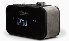 Roberts Ortus 2 DAB+ en FM wekker klokradio, zwart