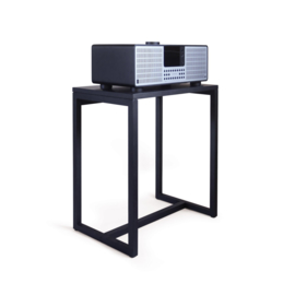 Revo S1 Audio Table, Black Oak