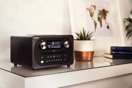 Pure Evoke C-D4 digitale DAB+ radio met CD en Bluetooth, Siena Black