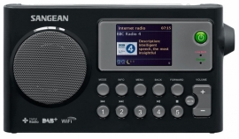 Sangean Fusion 270 (WFR-27C) compacte internetradio met Spotify Connect, DAB+, FM en audiostreaming