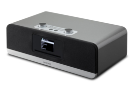 Roberts Stream 67 Smart Audio Systeem met internetradio, Multiroom, DAB+, FM, USB, Spotify en Bluetooth, zilver