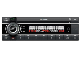 Axion CR1225DAB+ 12 volt DAB+ autoradio met CD, USB, analoge input en Bluetooth