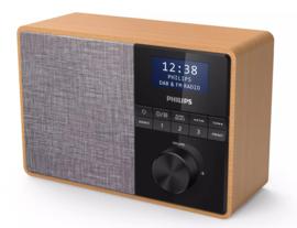 Philips TAR5505 / 10 draagbare digitale radio met DAB+, FM en Bluetooth ontvangst