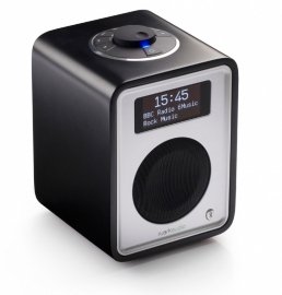 Ruark Audio R1 deluxe tafelradio met DAB+, FM en Bluetooth, Soft Black