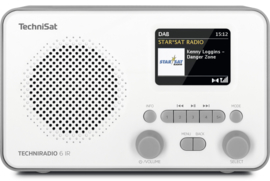TechniSat TECHNIRADIO 6 IR digitale portable radio met DAB+, FM en internet, wit