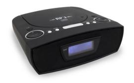 Soundmaster URD480SW stereo DAB+ en FM radio met CD en USB speler, zwart, OPEN DOOS