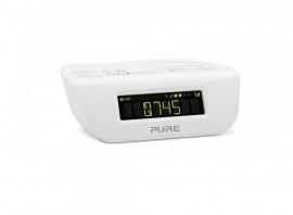 PURE Siesta Mi Series 2 digitale DAB+ wekkerradio met FM, wit