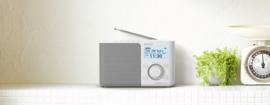 Sony  XDR-S61D Portable Digitale radio DAB+ FM, wit