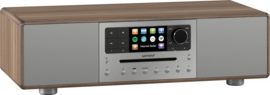 sonoro MEISTERSTÜCK SO-610 V4 stereo internetradio all-in-one muzieksysteem, walnut