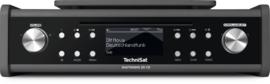 Technisat DigitRadio 20 CD stereo onderbouw radio met DAB+, FM en CD, antraciet