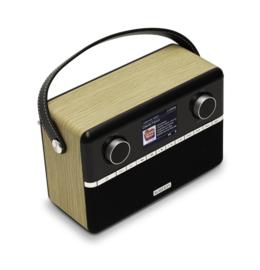 Roberts Stream 94i PLUS stereo internetradio, DAB+, FM, USB, Spotify en Bluetooth, licht-eiken