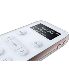 Pure Move R3 zakradio met DAB+ en FM - oplaadbaar, wit