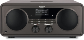 TechniSat DigitRadio 631 hifi audio radio met DAB+ en FM ontvangst, internet radio, CD-speler en Bluetooth streaming, antraciet