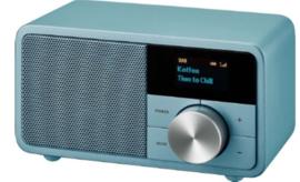 Sangean DDR-7 mini DAB+ en FM radio met Bluetooth ontvangst, Norse Blue