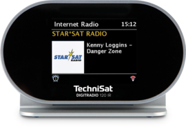 TechniSat DigitRadio 120 IR settopbox met internet, DAB+, FM, Spotify, Bluetooth en Multiroom, OPEN DOOS