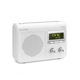 Pure One Flow digitale DAB+, FM en internet radio in wit