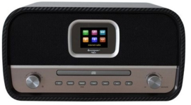 Soundmaster Elite Line ICD3030CA internet radio met DAB+, FM, Bluetooth en CD speler, carbon